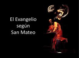 presentación San Mateo