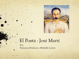 """""""Dos patrias"""" José Martí"""