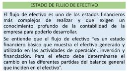 estado de flujo de efectivo directo