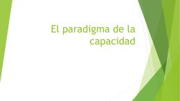 El paradigma de la capacidad - Colegio de Abogados y Procuradores