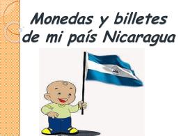 Monedas y billetes de mi país Nicaragua Símbolo
