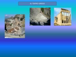 orígenes del teatro griego