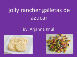 jolly rancher galletas de azucar