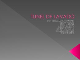 TUNEL DE LAVADO - M16GA01PL01-GRUPO02