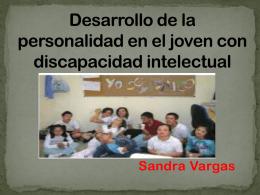 Desarrollo de la personalidad en el joven con discapacidad intelectual