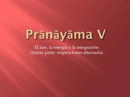 Pranayama parte 5