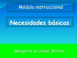 Necesidades básicas - CreacionColaborativa