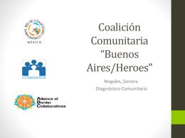 Buenos Aires/Héroes - Red de Coaliciones Comunitarias