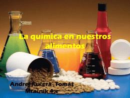 La quimica en nuestros alimentos