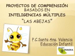Proyectos inteligencias múltiples (Educación infantil)