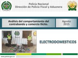 Boletín Electrodomésticos Agosto 2015