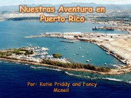 Nuestras Adventura en Puerto Rico