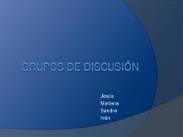 Grupos de discusión
