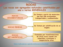 MINERALES Y ROCAS - bienvenidos al ies 9 valles