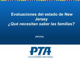 Evaluaciones del estado de New Jersey