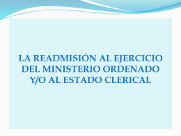 el retorno al estado clerical