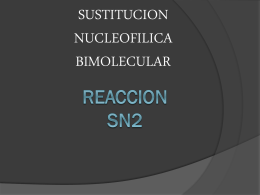 REACCION SN2 - ACABRERAPAUWIKI