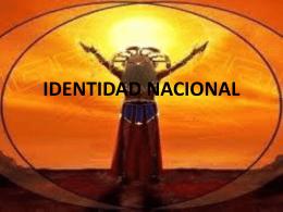 IDENTIDAD NACIONAL - profbetzabesevedon
