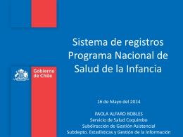Registros Programa I.. - Servicio de Salud Coquimbo