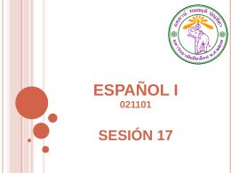sesión 17 - CMU Español