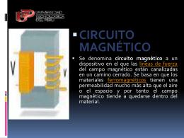circuito magnético - INGENIERIAAERONAUTICA