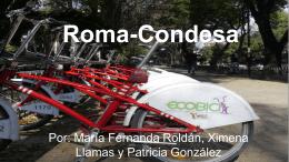 Roma-Condesa - Portafolio 2013-2014