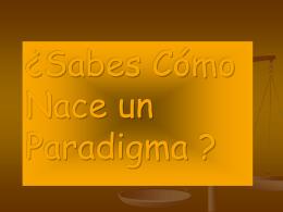 Tema 3 Paradigmas