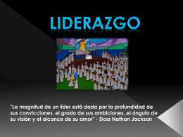 LIDERAZGO - Direccionempresarial1