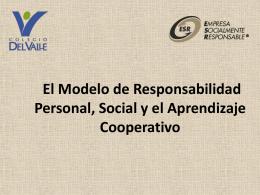 El Modelo de Responsabilidad Personal y Social y el Aprendizaje