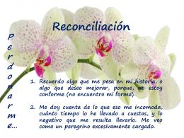 Reconciliación. (Presentación).