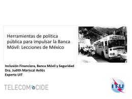 Judith Mariscal CIDE Mexico