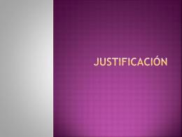 Justificación - Educación Continua INAH