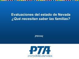 Evaluaciones del estado de Nevada