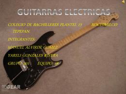 guitarra - TIC3-301