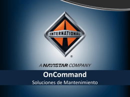 OnCommand México - Westrux International