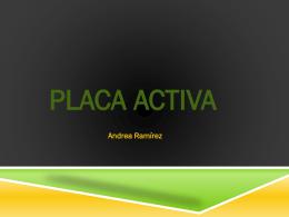 Placa activa - OdontoAyuda