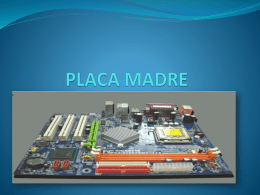 PLACA MADRE - WordPress.com