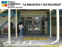 Diapositiva 1 - biblioteca Sede Viña del Mar
