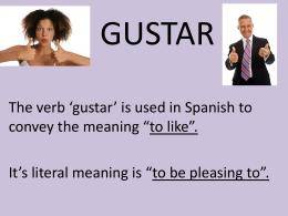 Gustar Notes