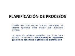 PLANIFICACIÓN DE PROCESOS-b