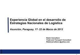 Presentación Robin Carruthers Marzo 2013 Paraguay