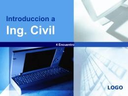 Introduccion a Ing. Civil - Ing. Edson Rodríguez Solórzano