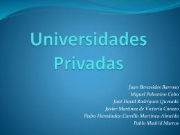 Universidades Privadas