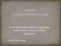movimientos sociales diapositivas