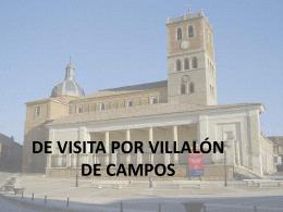 CONOCIENDO VILLALÓN DE CAMPOS