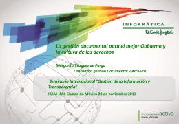 Dra. Margarita Vázquez de Parga - Licenciatura en Derecho del ITAM