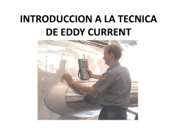 INTRODUCCION A LA TECNICA DE EDDY CURRENT