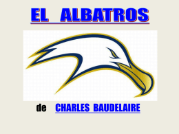 Análisis del poema EL ALBATROS