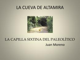LA CUEVA DE ALTAMIRA.