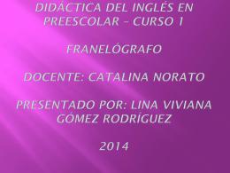 Lina Viviana Gómez Rodríguez 2014